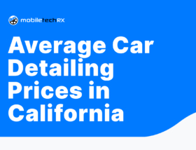 Car Detailing Prices in California