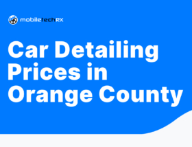 Car Detailing Prices in Orange County