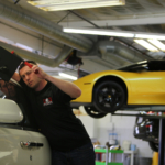 PDR Business Owner Dan Ontrop from Dan O Dents Performing Paintless Dent Repair